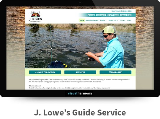 j lowes guide service web project archive screen