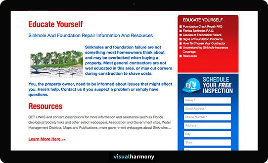foundation services project educational resources