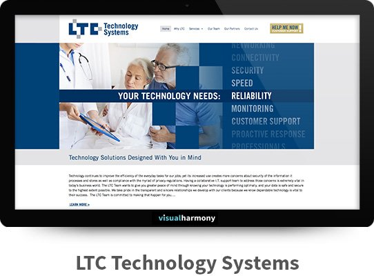 ltc technology systems web project archive screen